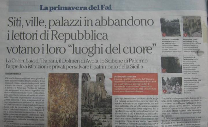 """Siti, ville, palazzi in abbandono. I lettori di Repubblica votano i loro """"luoghi del cuore"""""""